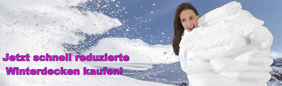 Winterdecken - Reduziert